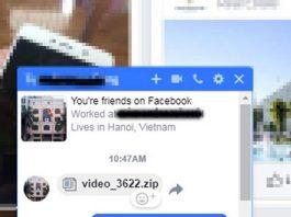 Cảnh báo mã độc đào tiền ảo lây lan qua Facebook Messenger