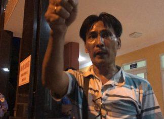 Ông Trịnh Hồng Phương - tài xế bị công an tạm giữ trong vụ BOT Cai Lậy vừa đến trạm thu phí đòi 100 đồng còn nợ