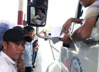 Hù dọa tài xế qua trạm BOT Cai Lậy, Đầy bị hàng chục tài xế kéo tới nhà tìm.