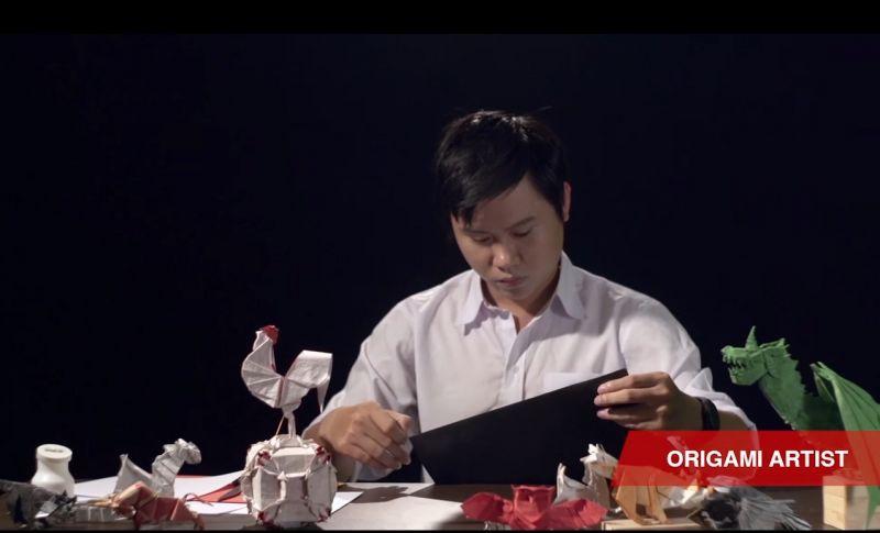 Đối với Henry, Origami không chỉ là một sở thích, mà còn là đam mê và là một nghề giúp anh có thể kiếm được mức thu nhập nhiều người mơ ước. (Ảnh: Henry Origami)