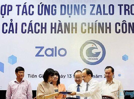 Ứng dụng Zalo vào xây dựng mô hình đô thị thông minh tại Tiền Giang