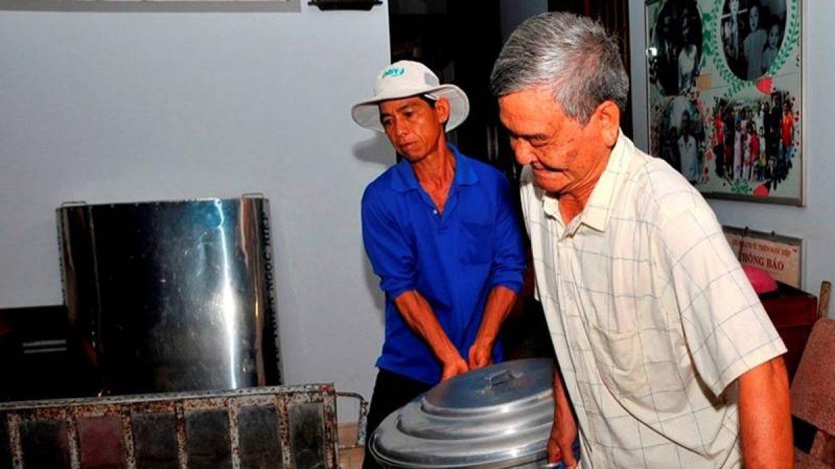 Tiền Giang: 15 năm làm bếp ăn từ thiện - bệnh nhân nghèo bớt khổ bà con  cũng vui theo - Mỹ Tho Đại Phố