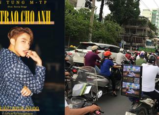 Fan Sơn Tùng MTP tràn khắp các con đường giúp thần tượng lập kỉ lục với trong buổi công chiếu