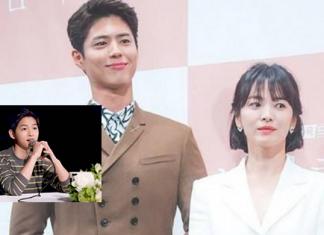 Song Joong Ki chính thức lên tiếng về tin đồn Song Hye Kyo ngoại tiếng với Park Bo Gum