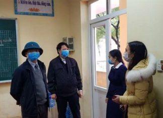 38 học sinh Vĩnh Phúc có biểu hiện sốt và ho, đang được theo dõi