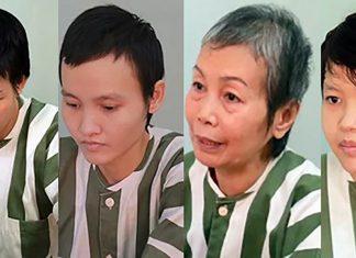 Bốn phụ nữ đổ bêtông thi thể bị truy tố