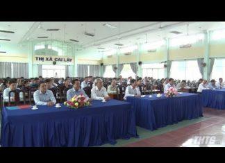 Chánh Văn phòng Tỉnh Tiền Giang được điều động giữ chức vụ Bí thư Thị ủy Cai Lậy