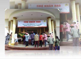 Chợ nhân đạo ở Tiền Giang