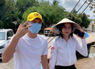 Thủy Tiên, Công Vinh tặng bà con Tiền Giang, Bến Tre 150 tấn lúa giống