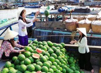 Chợ nổi Trà Ôn – Nét đẹp văn hóa giao thương ở Vĩnh Long