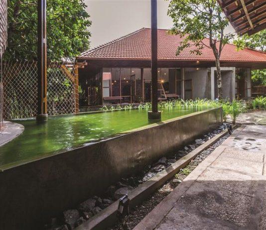 Độc đáo quán cà phê được xây từ 3000 viên gạch cũ ở Tiền Giang