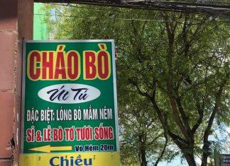 Cháo Bò - Lẩu Bò - Bò tơ tươi sống ÚT TÚ