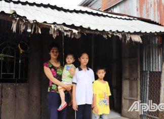 Tiền Giang: Cần một mái nhà che nắng che mưa cho cả gia đình
