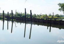 Hoàn thành tháo dỡ đập thép ngăn mặn, trữ ngọt trên kênh Nguyễn Tấn Thành