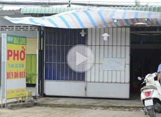 Người dân Tiền Giang chấp hành quy định về giãn cách xã hội theo Chỉ thị 15 của Chính phủ