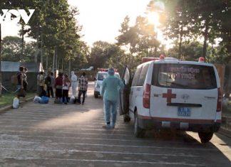 Tiền Giang: Bệnh viện dã chiến quân đội điều trị 13 bệnh nhân Covid-19 đầu tiên khỏi bệnh