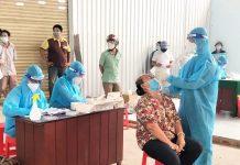 Quét vùng nguy cơ cao, F0 cộng đồng ở Tiền Giang bắt đầu giảm