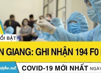 Ngày 1-9: Tiền Giang ghi nhận 194 F0 mới
