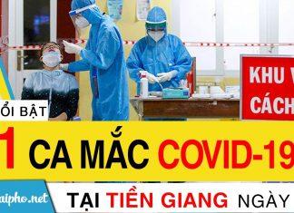 Bản tin Covid-19 Tiền Giang mới nhất ngày 16-9-2021 phát hiện 81 ca F0 mới trong ngày