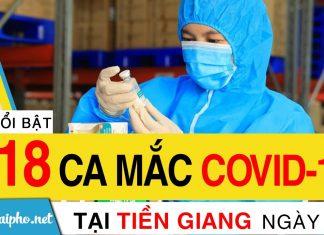 Bản tin Covid-19 Tiền Giang mới nhất ngày 17-9-2021 phát hiện 118 ca F0 mới trong ngày