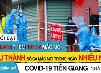 Tiền Giang phát hiện 197 F0 mới trong ngày 18/9, Châu Thành số ca mắc trong ngày mới nhiều nhất tỉnh