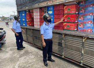 Tiền Giang: Phát hiện 3,5 tấn trái cây Trung Quốc không nhãn phụ