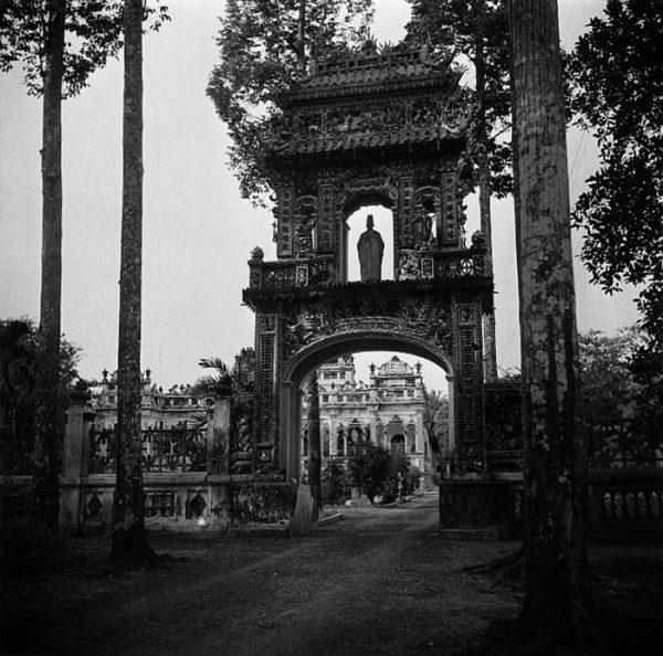 Cổng Chùa Vĩnh Tràng xưa